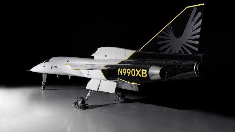Pesawat supersonik Baby Boom atau XB-1