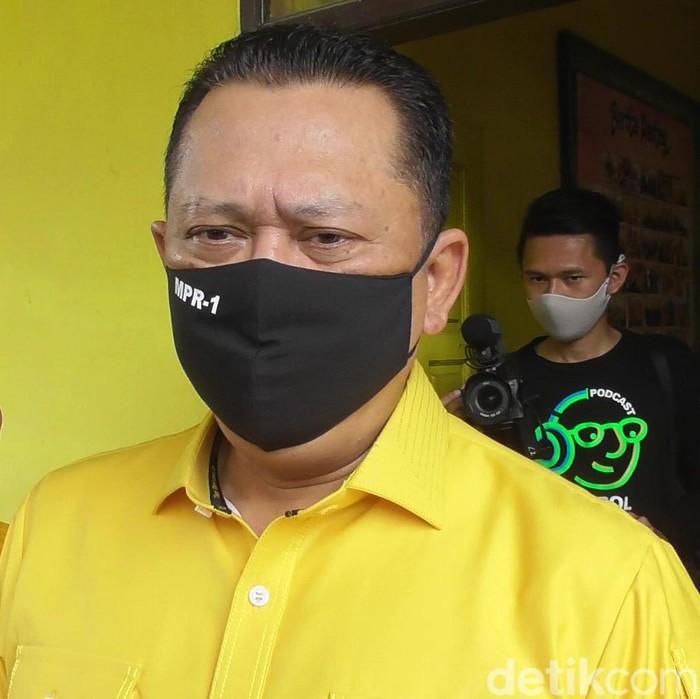 Ketua MPR Bambang Soesatyo di Banjarnegara, 8/10/2020