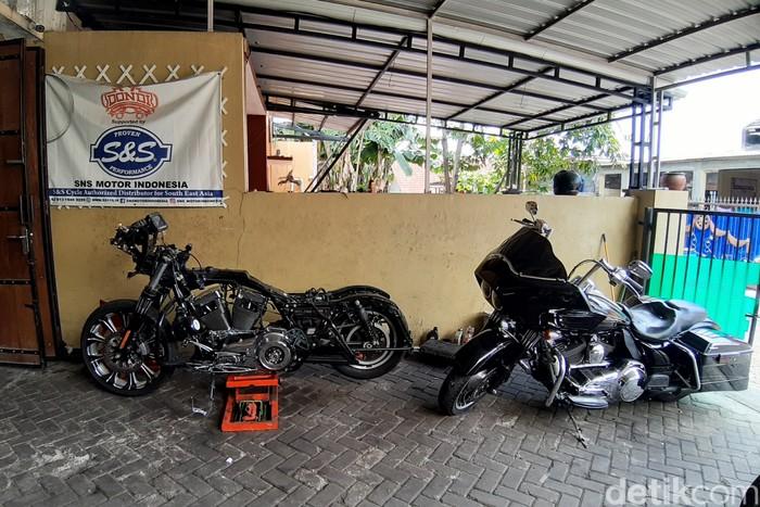 Buka Bengkel Moge di Rumah, Konsumennya dari Luar Kota sampai putra Jokowi