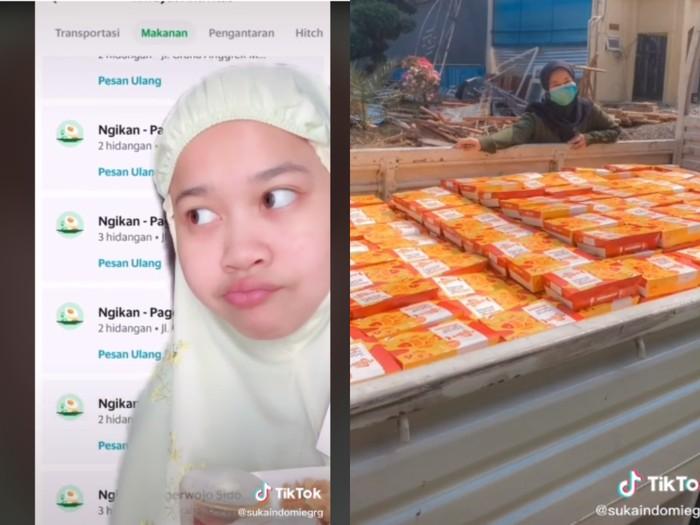 Beli Ngikan Tiap Hari, Netizen Ini Dikirimi Satu Truk oleh Selebgram