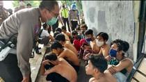 Diduga Mau Merusuh, 30 Remaja Berpakaian Serbahitam Diamankan Polisi