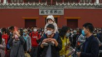Foto: Padatnya Tempat Wisata Diserbu Jutaan Warga China