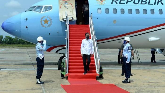 Jokowi kunker ke Kalimantan Tengah (Foto: Kris - Biro Pers Sekretariat Presiden)