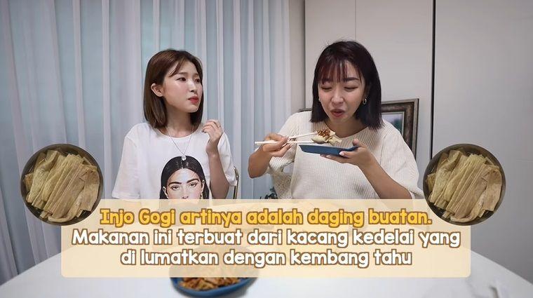 YouTuber Cicip Makanan khas Korea Utara