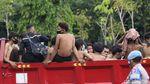 Polisi Amankan Puluhan Pelajar di Sekitar Istana