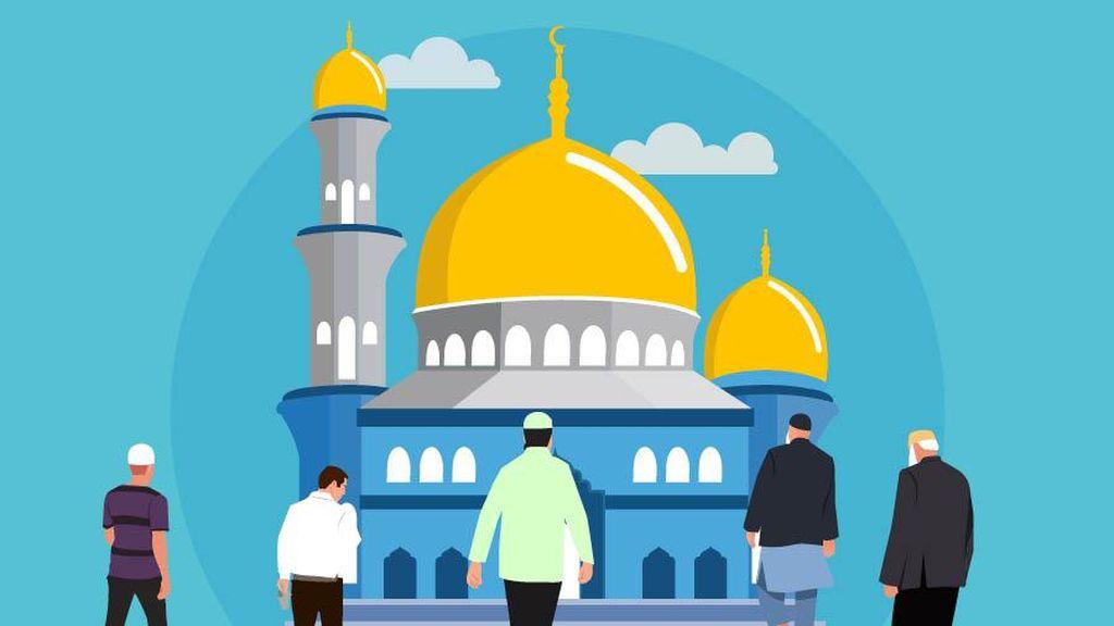 Salat Jumat di Masjid, Ingat Ya Terapkan Protokol Kesehatan Ini!