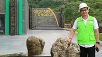 Tommy Kurniawan yang juga politisi PKB itu mengunjungi Geopark Pongkor di Bogor. (Instagram Tommy Kurniawan)