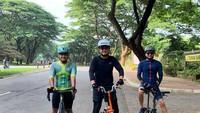 Tommy Kurniawan juga gemar bersepeda belakangan ini. (Instagram Tommy Kurniawan)