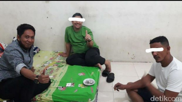 Adik Pasha Ungu ditangkap BNNP Sulteng terkait kasus narkoba (M Qadri/detikcom)