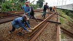 Progres Terkini Proyek Double-double Track di Tengah Pandemi