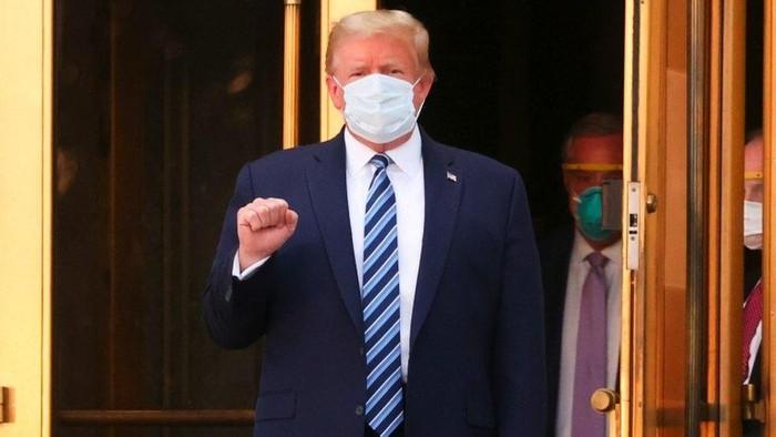 Covid 19: Trump minta warga AS tak takut virus corona, pelayanan seperti apa yang diterimanya saat sakit?