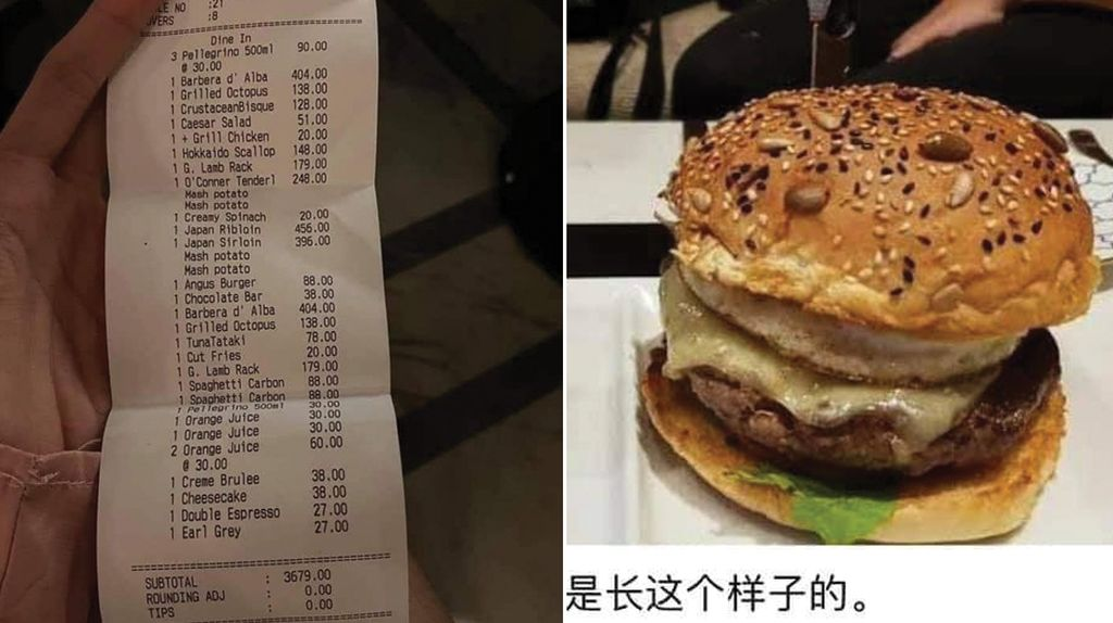 Diundang Pesta Ultah, Pria Ini Malah Dipaksa Bayar Burger Rp 3,2 Juta