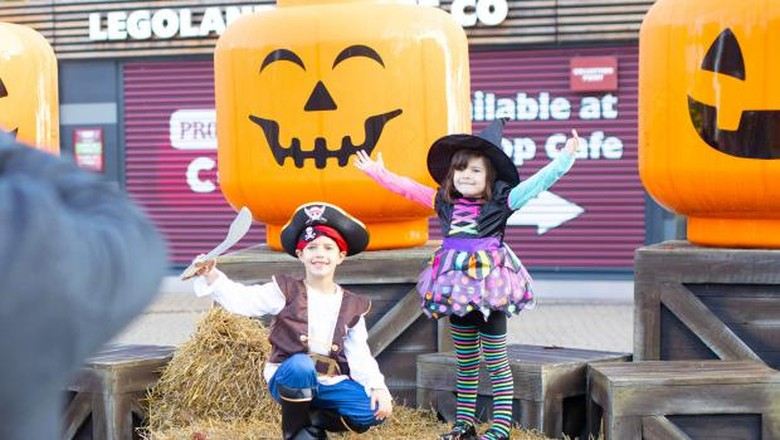 Halloween di Legoland Windsor