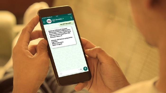 Indosat Ooredoo menghadirkan akun WhatsApp IM3 Ooredoo untuk meningkatkan layanan kepada pelanggan.