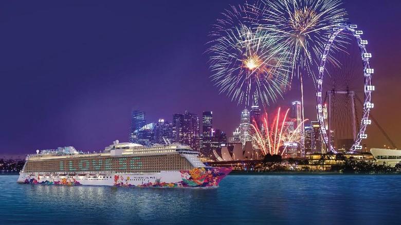 Kapal pesiar World Dream Genting Cruise Lines