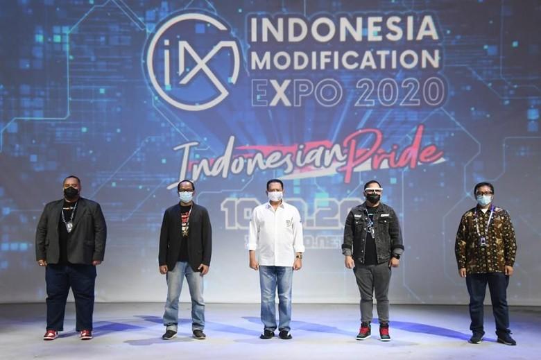 Ketua MPR RI Bambang Soesatyo menjadi juri di IMX 2020