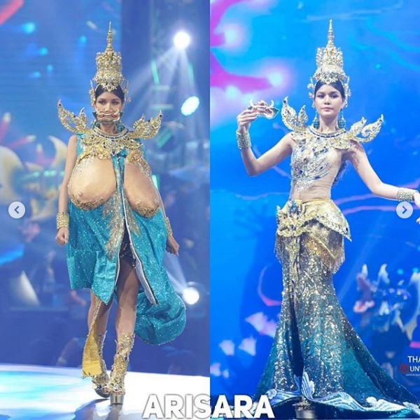 Kostum Nasional Finaliss Miss Universe Thailand
