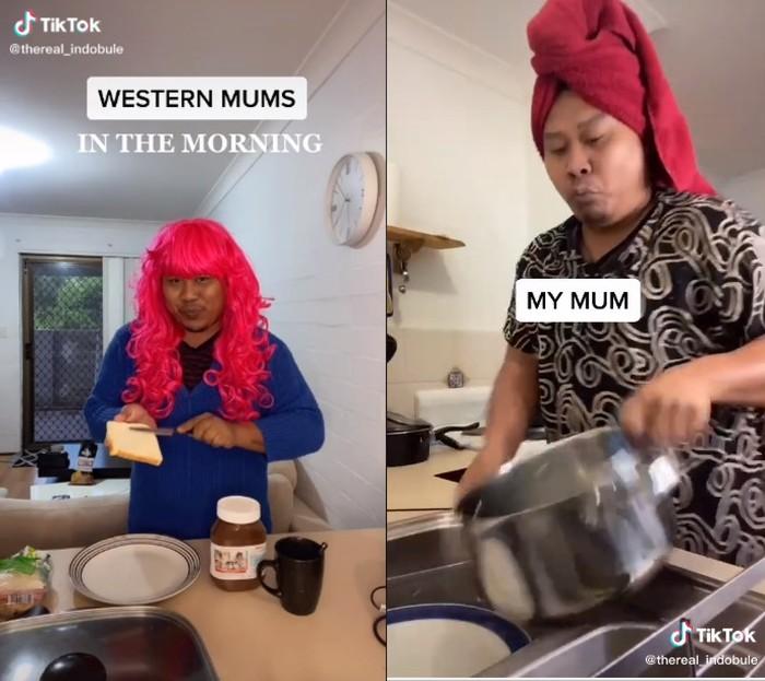 Perbedaan Ibu Bule dan Ibu Indonesia