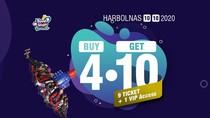 Nikmati Akhir Pekan di Trans Studio Bandung, Ada Promo Buy 4 Get 10!