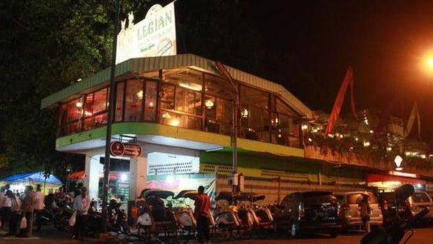 Resto Legian Garden di Yogyakarta.