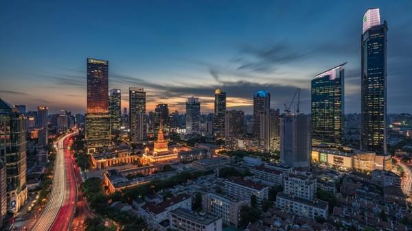 Shanghai termasuk kota tersehat, dengan obesitas rendah dan banyaknya aktivitas outdoor yang bisa dilakukan. Tapi sayangnya, kota ini memiliki tingkat polusi udara yang tinggi. Foto: CNN Travel