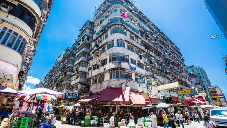 Sham Shui Po di Hong Kong