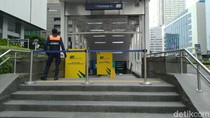 Stasiun Bundaran HI Ditutup, Layanan MRT Hanya Dukuh Atas-Lebak Bulus