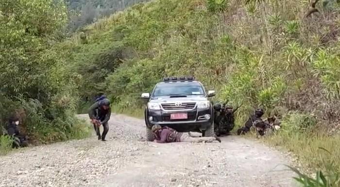 TGPF diserang KKB di Intan Jaya, Papua, Jumat (9/10/2020)