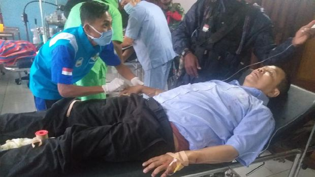 TGPF Intan Jaya ditembaki KKB usai melakukan olah TKP di Distrik Hitadipa, Intan Jaya, Papua (dok Kogabwilhan III)