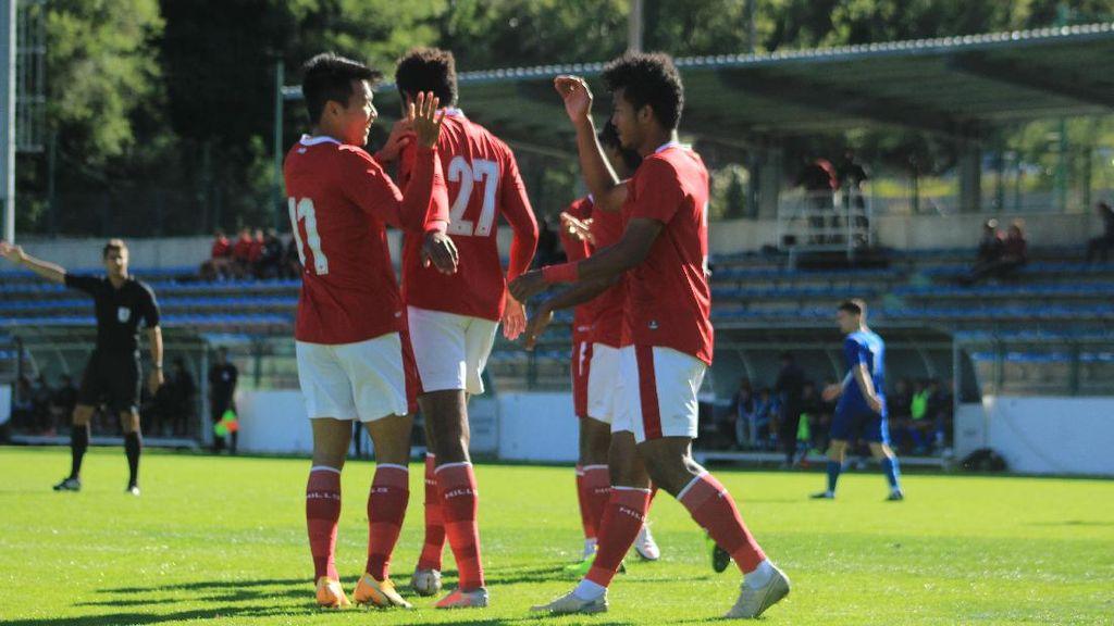 Hasil Timnas U-19 Vs Makedonia Utara: Garuda Muda Menang 4-1