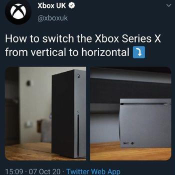 Sindiran Xbox untuk PS5 yang kemudian dihapus