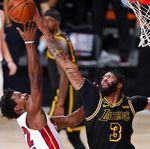 Final NBA 2020: Heat Atasi Lakers di Gim Kelima, Tipiskan Ketinggalan