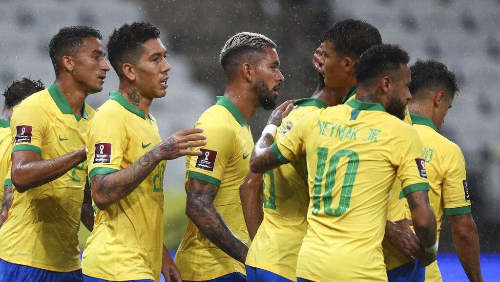 Video Pesta Gol Brasil ke Gawang Bolivia 5-0