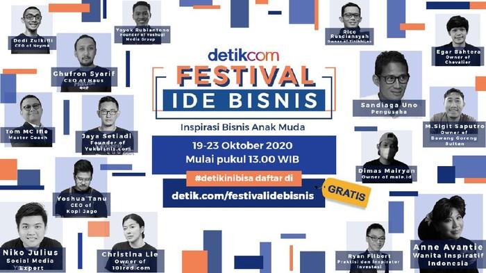 Festival Ide Bisnis detikcom