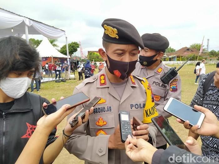 Kapolres Magelang Kota AKBP Nugroho Ari Setyawan, Sabtu (10/10/2020).