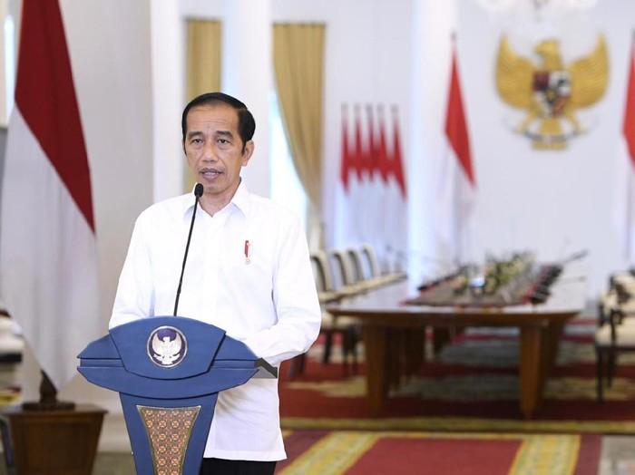 Presiden Jokowi buka-bukaan soal UU Cipta Kerja.