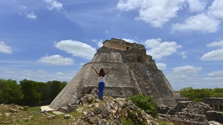 Situs kuno Uxmal di Meksiko