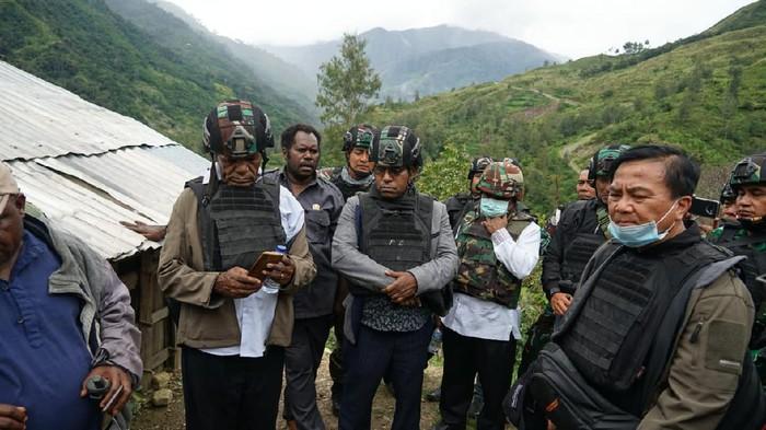 TGPF Intan Jaya melanjutkan investigasi dengan menggunakan rompi anti peluru