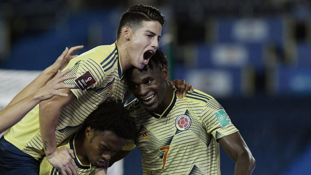 Video Kolombia Hajar Venezuela 3-0 di Kualifikasi Piala Dunia 2022