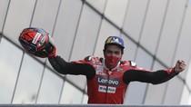 MotoGP Prancis: Danilo Petrucci, Si Jagoan Trek Basah