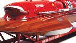 Potret Kapal Berkecepatan Tinggi Ferrari yang Dijual Rp 176 Miliar