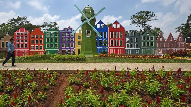 Serang punya wahana wisata baruu lho di Kampung Cideheng, Kemanisan, Curug. Seperti apa penampakannya? Lihat yuk.