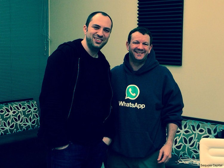 Jan Koum Brian Acton