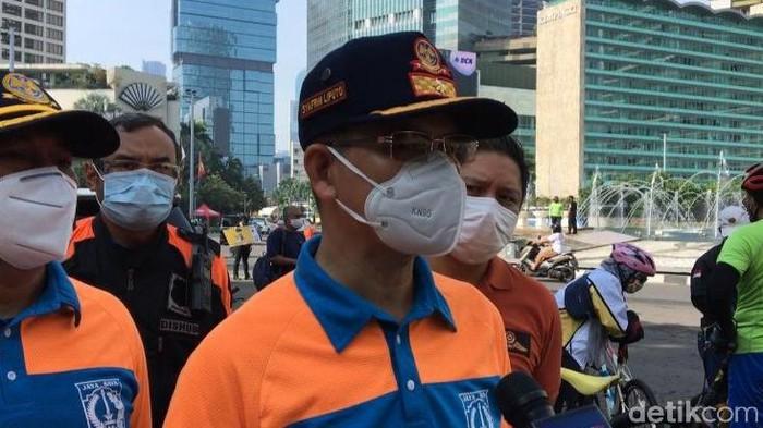 Kepala Dinas Perhubungan DKI Jakarta, Syafrin Liputo (Wilda Nufus/detikcom)
