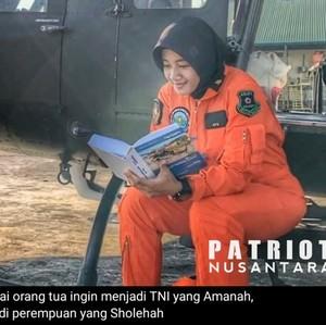 Kisah Inspiratif Letda Ayu, Anak Buruh yang Sukses Jadi Pilot TNI AD