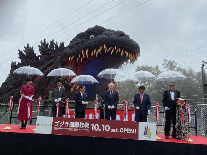 Museum Godzilla Dibuka di Jepang pada 10 Oktober 2020