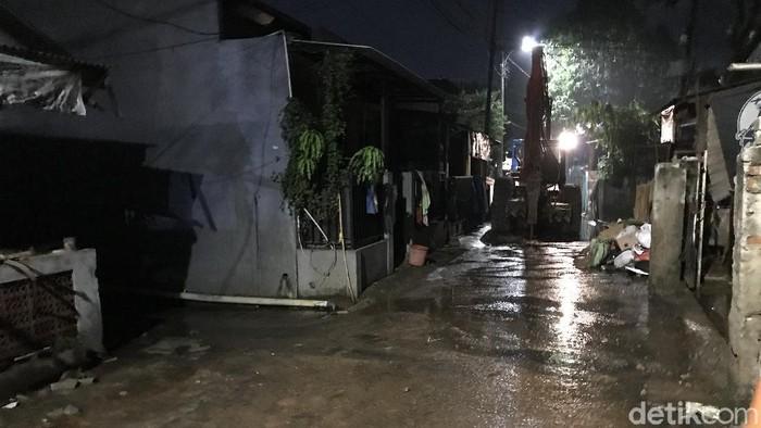 Banjir di Ciganjur telah surut (Tiara Aliya/detikcom)