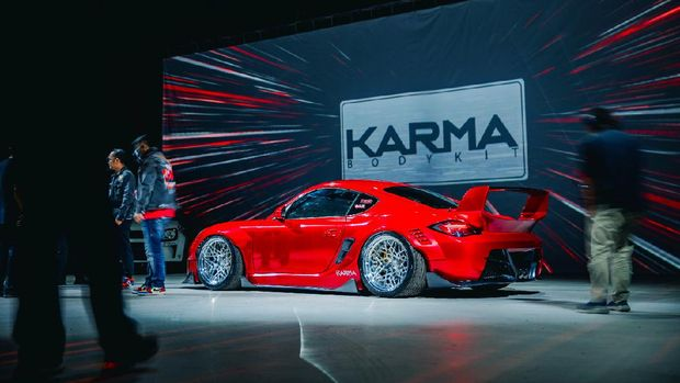 Bodykit Porsche Buatan Anak Bangsa