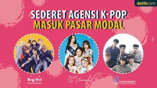 Deretan Agensi K-Pop yang Melantai di Pasar Modal