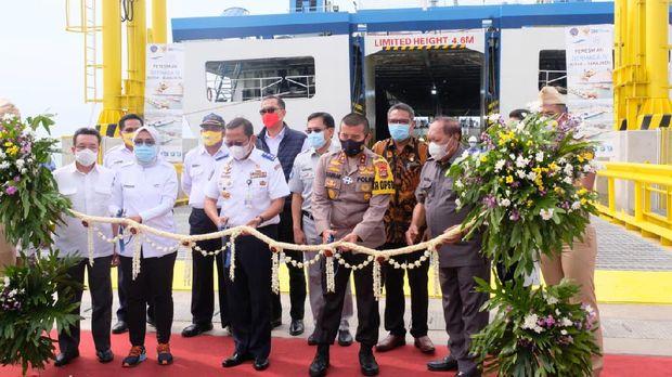 Dermaga IV Merak-Bakauheni (Dok ASDP Ferry)